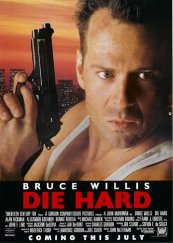 06. DIE HARD (1988) I remember I watched this film once or twice as a child. I rediscovered it five years ago, and was shocked I let this one slip through the Christmas movie list crack. Bruce Willis, ah. Merry Christmas indeed.