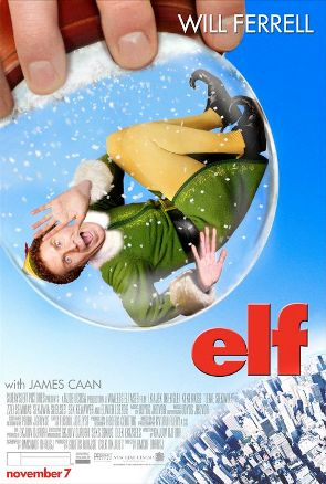 25. ELF (2003) THE ULTIMATE CHRISTMAS FILM. If you watch anything this Christmas, it has to be Elf. The perfect combination of storytelling techniques in a film. On the Christmas character scale Buddy, portrayed by Will Ferrell, is perhaps the top Christmas Character, maybe tie with Santa Claus. The cast, great! We have James Caan, Bob Newhart, Zooey Deschanel, Edward Asner, Mary Steenburgen, Peter Dinklage and Andy Richter. I reference this film so much in my every day life. Practically every time I step onto an escalator awkwardly. Every time I choose to randomly sing in a store. Every time the countdown to Christmas begins. MAKE SURE YOU WATCH IT!