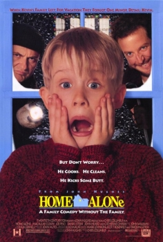 "20. HOME ALONE 1, 2 & 3 (1990, 1992 & 1997) ANOTHER FAMILY FAVOURITE. We have a tradition to watch these films every Christmas. The hijinks, Kevin McCallister gets up to are things we as children could only dream about. This is another film we quote all the time. My favourite line would have to be Uncle Frank on the plane, ""If it makes you feel any better, I forgot my glasses."" Their faces trying to comprehend him comparing his forgetting reading glasses to forgetting a child at home are priceless. Oh and the Tim Curry sequences in the second film, ""I LOVE YOU."" So great."