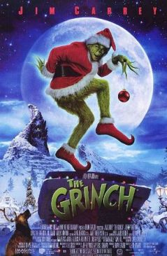 14. DR. SUESS' HOW THE GRINCH STOLE CHRISTMAS (2000) THE BEST! Did you know it is reportedly the highest grossing Christmas film to date. Jim Carrey, at his finest and Taylor Momsen before Gossip Girl. We were watching this a few months back and enjoying every minute of it, even though it wasn't Christmas. The many times we've quoted this film, and there's the running joke that everyone resembles some aspect of the Grinch in this film. Watch it to see what part suits you most.