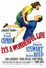 01. IT'S A WONDERFUL LIFE (1946) Classic film. With one of my favourite actors James Stewart. One of those films that grabs you from the word go. It's a step away from the traditional Christmas film, but is something that has come to be revered and holds a special place in many a heart.