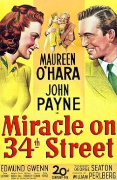 16. MIRACLE ON 34TH STREET (1947) Such a sweet film. The story and plot was adapted well for the Christmas setting and the concept behind it all makes for a tale that captures the viewer. You can feel quite emotional watching films that connect with you, this is one of them.