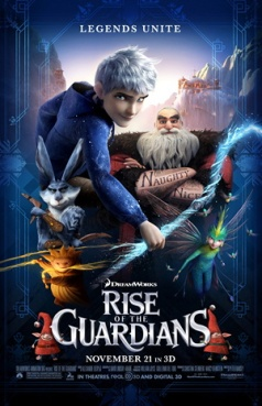 23. RISE OF THE GUARDIANS (2012) LOVE IT! Rise of the Guardians takes on the stories of Christmas' Santa (Alec Baldwin), Easter's The Easter Bunny (Hugh Jackman), those to do with the Tooth Fairy (Isla Fisher) and the Sandman aka Sandy. In the mix there we have Jack Frost (Chris Pine), and a modern interpretation of the Boogeyman, Pitch Black (Jude Law). Ok so after watching this film and Frozen, I've come to the decision Jack and Elsa belong together. That is all. ULTIMATE FROZEN DREAM!