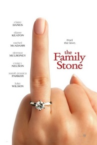 10. THE FAMILY STONE (2005) SJP, SJP, SJP. Sarah Jessica Parker in a Christmas movie. I love the story, visuals and casting. Diane Keaton, SJP, Dermot Mulroney, Rachel McAdams, Craig T. Nelson, Tyrone Giordano, Brian White, Elizabeth Reaser, Claire Danes and the ever charming Luke Wilson. Some characters you love, others, not so much. I'm sure you can tell who I like.