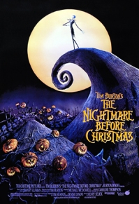 09. THE NIGHTMARE BEFORE CHRISTMAS (1993) So this movie definitely scared me as a child. Which is so weird, because I now love Tim Burton films including this movie. The songs are great and the animation absolutely fantastic. Put the movie on and you see how many people come and sit with you to sing along to the tracks.